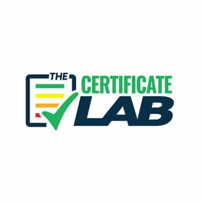 the certificate lab