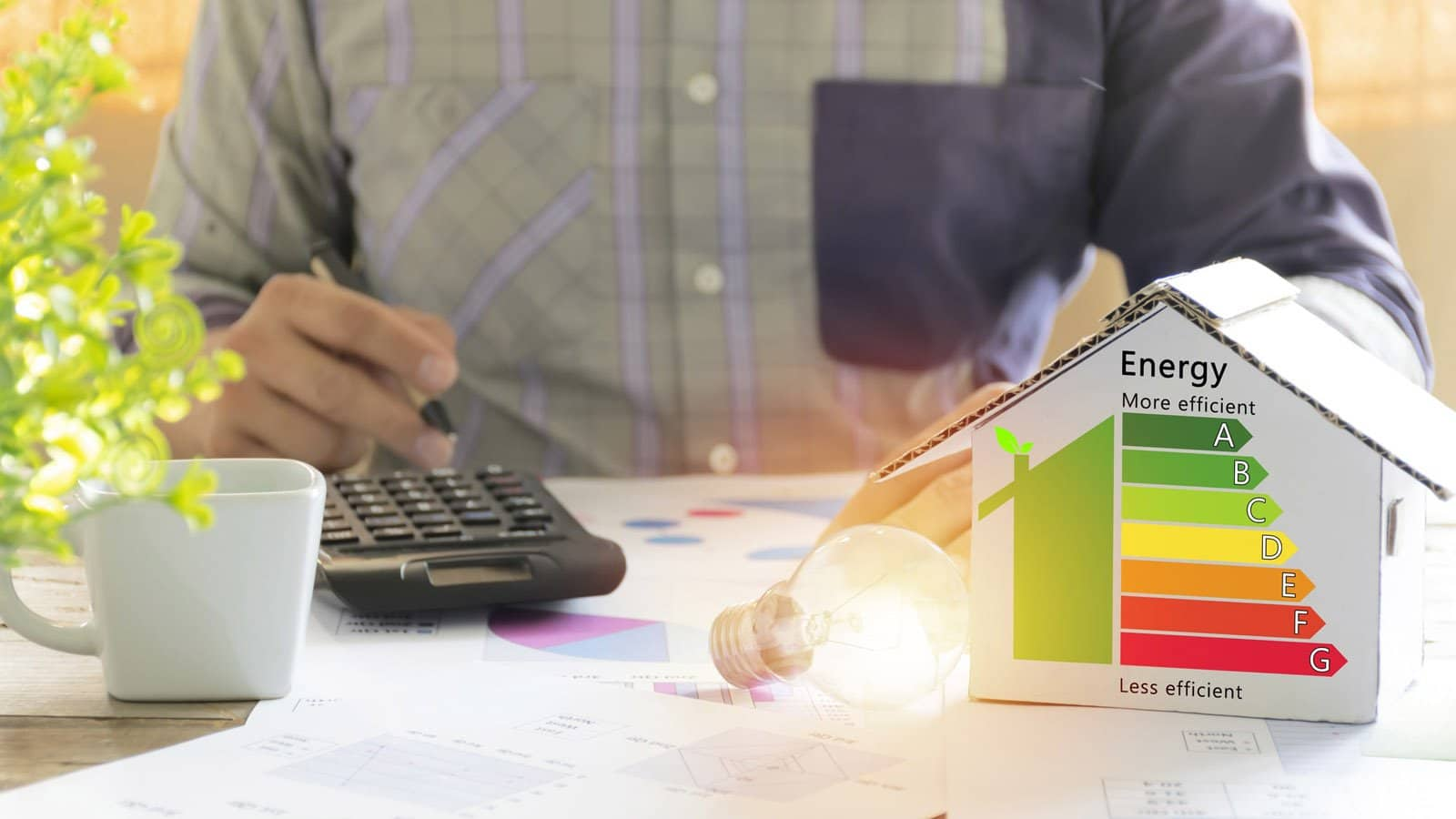 how to calculate the energy efficiency of your home